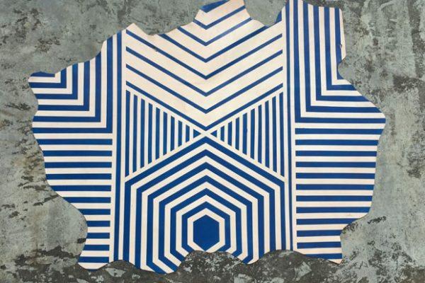 Maraí Valente cria tapetes inspirados pela cultura indígena