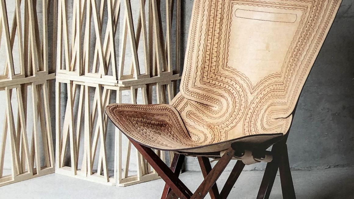 Cadeira Kanga, de Ricardo van Steen, combina releitura e inventividade